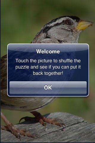 SlidePuzzle - Sparrow screenshot #2