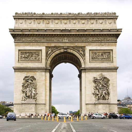 SlidePuzzle - Arc de Triomphe