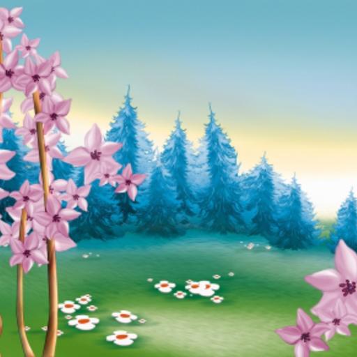 Spring Forest Snow Globe