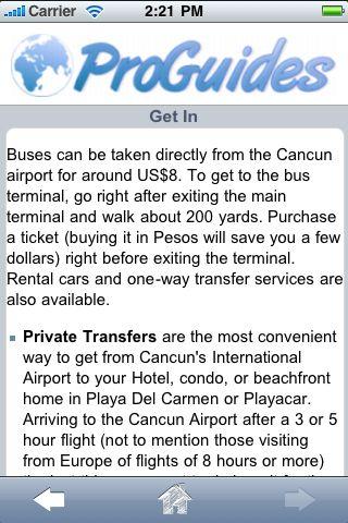 ProGuides - Playa del Carmen screenshot #3