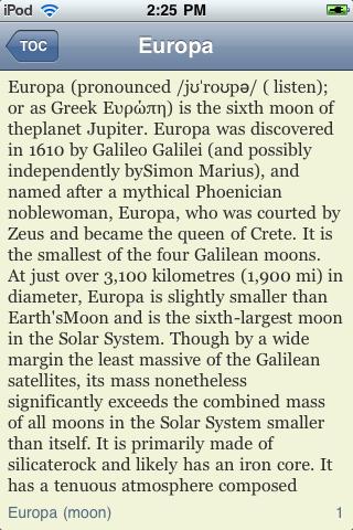 Europa - Jupiter's Moon screenshot #3