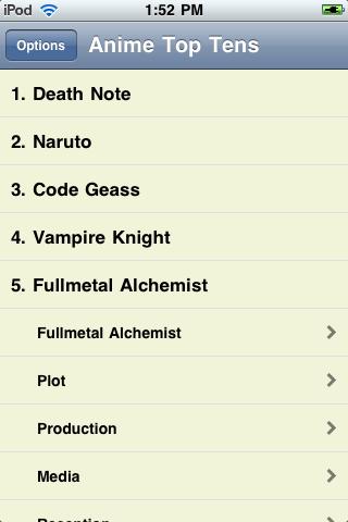 The Best Anime Series Ever screenshot #1