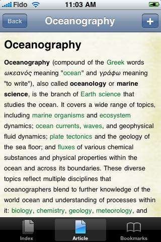 Oceanography Study Guide screenshot #1