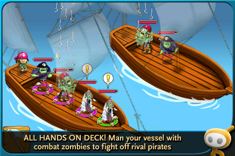 Zombie Isle screenshot #2