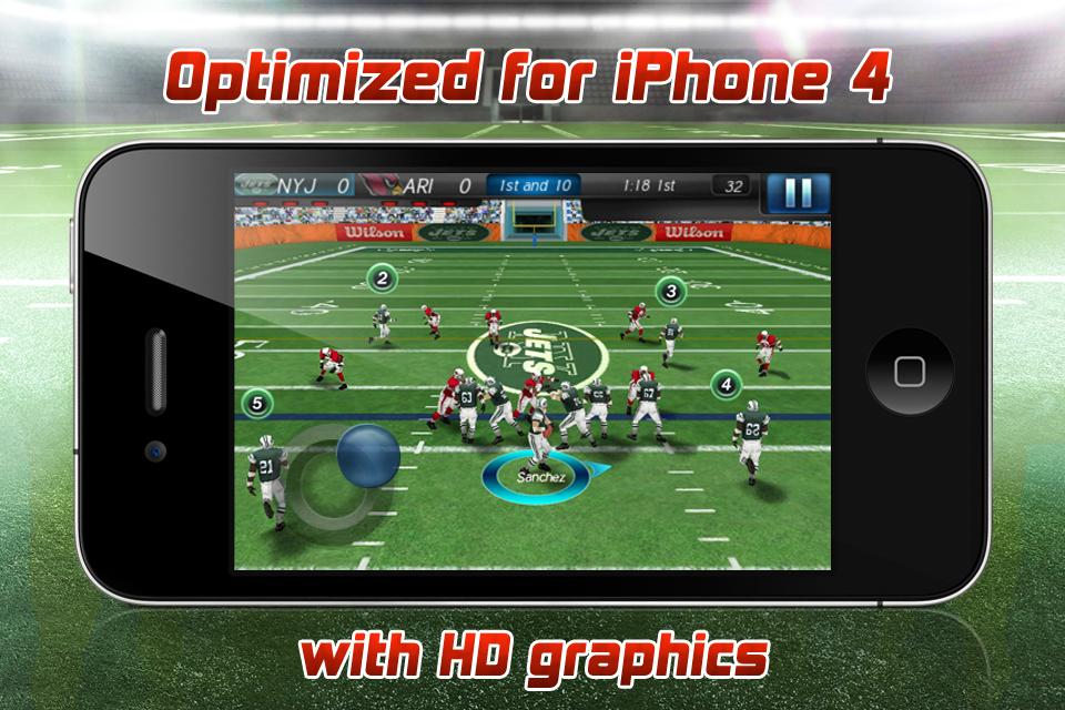 NFL 2011 FREE screenshot 1