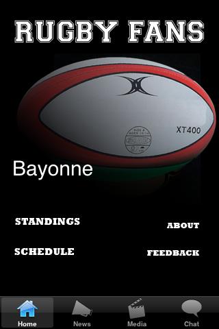 Rugby Fans - Bayonne screenshot #1