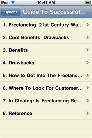 Guide To Successful Online Freelancing screenshot #2