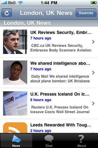 London, UK News screenshot #1