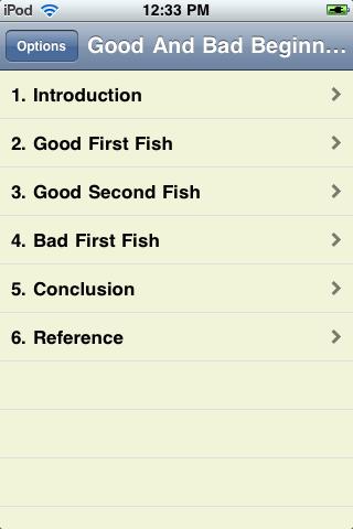 Good And Bad Beginner Fish screenshot #2