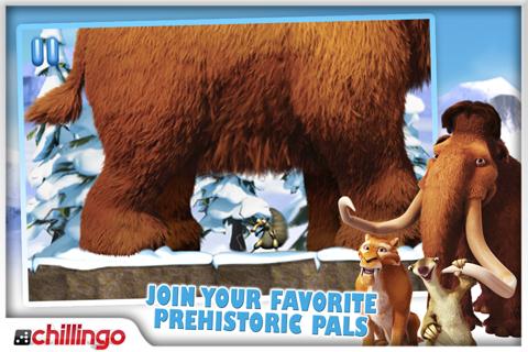 Ice Age: Dawn Of The Dinosaurs Lite screenshot 1