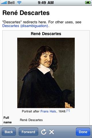 René Descartes Quotes screenshot #1