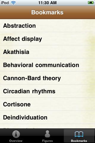 Psychology Terms Pocket Book screenshot #5