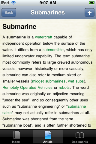 Submarines Study Guide image #1