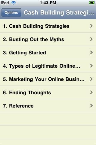 Cash Building Strategies screenshot #2