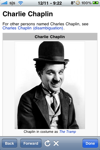 Charlie Chaplin Quotes screenshot #1
