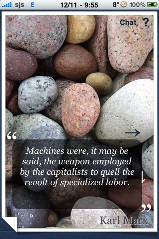 Karl Marx Quotes screenshot #3