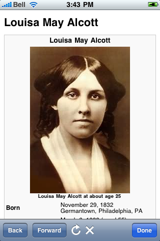 Louisa May Alcott Quotes screenshot #1