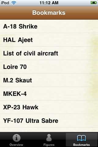 Aircraft Models Pocket Book screenshot #5