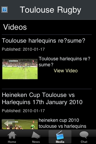 Rugby Fans - Toulouse screenshot #3
