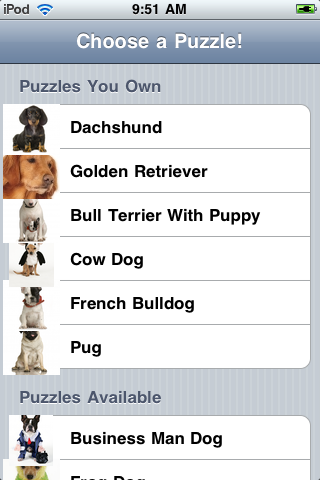 Slide Puzzle - Dogs edition screenshot #4