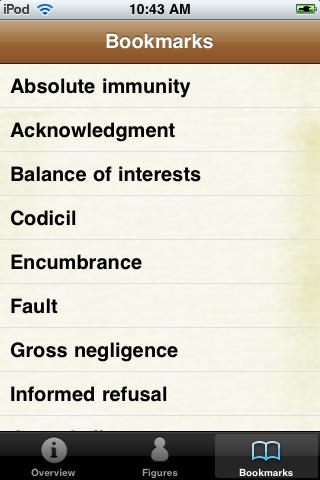 Legal Terms Glossary Book screenshot #5