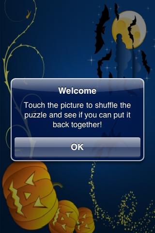 Happy Halloween Slide Puzzle screenshot #3