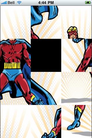 Super Hero Slide Puzzle screenshot #3