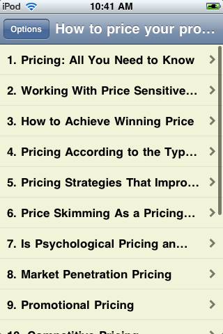 How to Price Your Products or Service Just Right screenshot #2