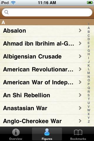Historical Wars Pocket Book screenshot #2