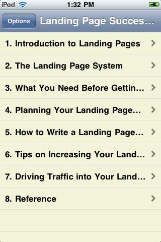 Landing Page Success Guide screenshot #2