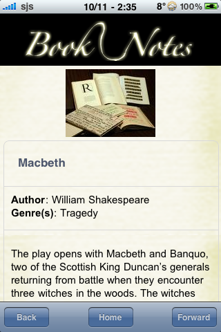 Book Notes - Macbeth screenshot #3