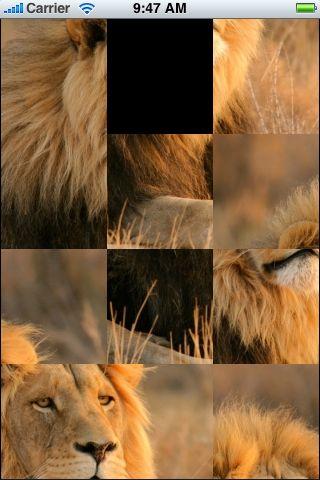 SlidePuzzle - Lion screenshot #1
