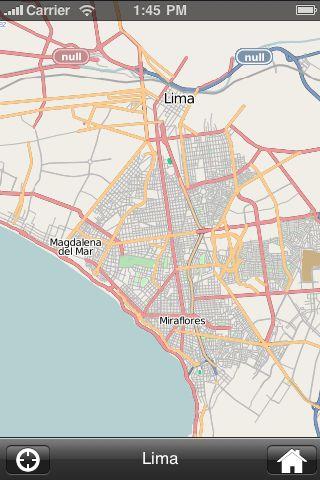 iMapsPro - Lima screenshot #2