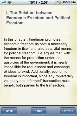 Book Notes - Capitalism and Freedom screenshot #2
