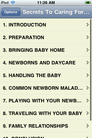 Secrets To Caring For A Newborn screenshot #2