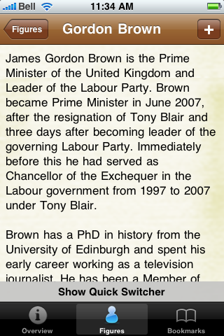 British Prime Ministers Pocket Book screenshot #3