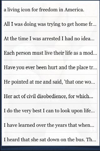 Rosa Parks Quotes screenshot #3