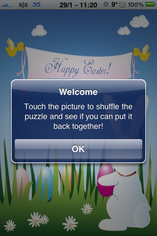 Happy Easter Slide Puzzle screenshot #3