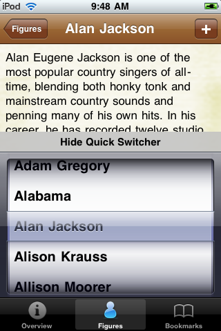 Country Music Artists Pocket Book screenshot #4