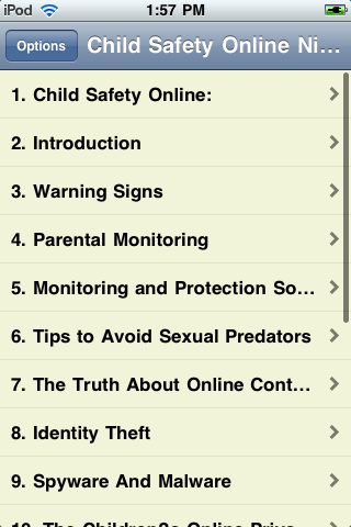 Online Child Safety screenshot #2