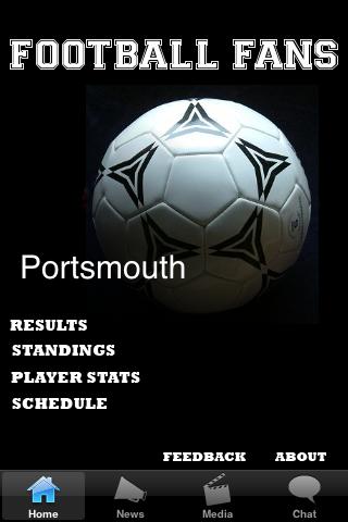 Football Fans - Portsmouth screenshot #1