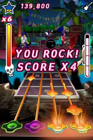 Guitar Rock Tour FREE screenshot 2