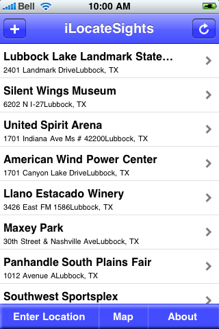 Lubbock, Texas Sights screenshot #2