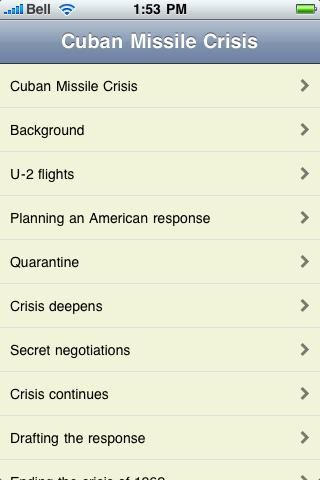 The Cuban Missile Crisis screenshot #1