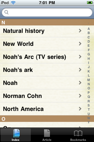 Noah's Ark Study Guide screenshot #2