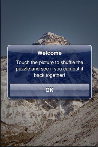 SlidePuzzle - Mount Everest screenshot #2