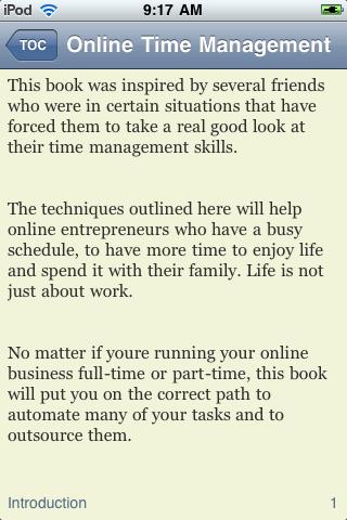 Online Time Management screenshot #3