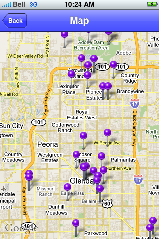 Glendale, Arizona Sights screenshot #1