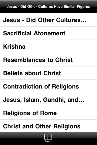 Jesus – Did Other Cultures Have Similar Figures screenshot #3