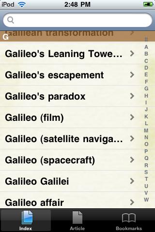 Galileo Galilei Study Guide screenshot #2